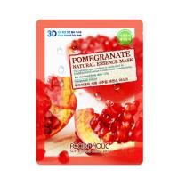 Deoproce - купить Тканевя маска с экстрактом граната Food A Holic 3D Shape Natural Essence Mask Pomegranate, 23гр на Deoprocemarket.ru